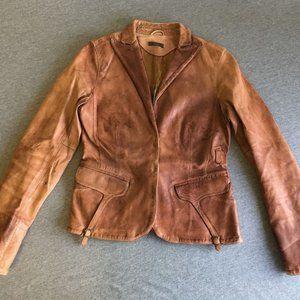 Blur Leather Jacket 44